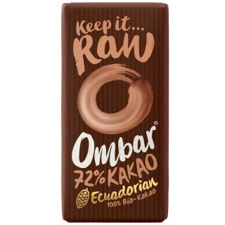 Ombar Superfood Schokolade 72%
