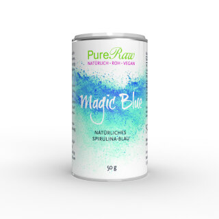 Magic Blue (natürliches Spirulina-Blau, blue spirulina) (Roh)