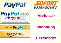 PureRaw Shop Zahlungsarten