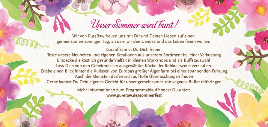 PureRaw Sommerfest